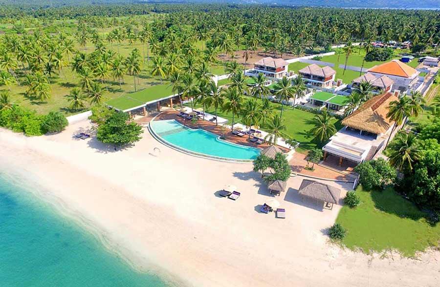 Anema Resort Gili Lombok Hotel rekomendasi di lombok travelloka
