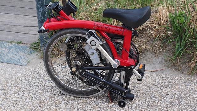 折り畳み自転車 折り畳み