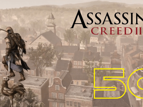 Sightseeing in New York. Assassin's Creed III #50