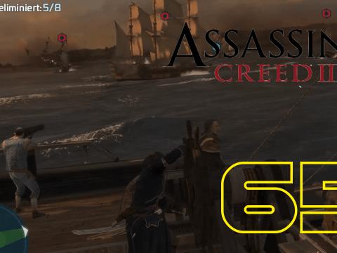 Schiffe versenken üben. Assassin's Creed III #65