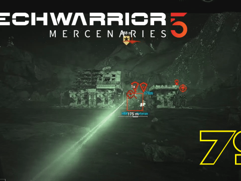 Mission in Dunkelheit. Mechwarrior 5: Mercenaries #79