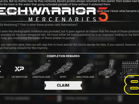 AMS! Mechwarrior 5: Mercenaries #81