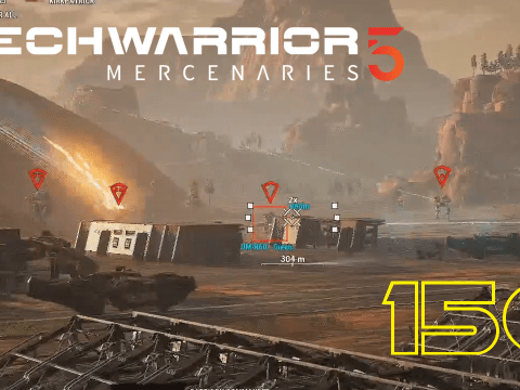 Turn and burn! Mechwarrior 5: Mercenaries #150