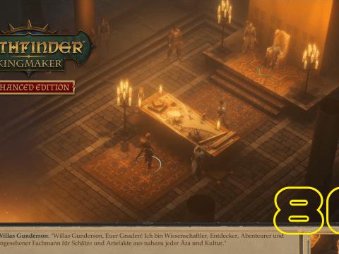 Treffen mit Herrn Gunderson. Pathfinder: Kingmaker #86