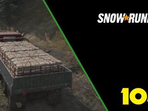 Zement für die Region. SnowRunner #104