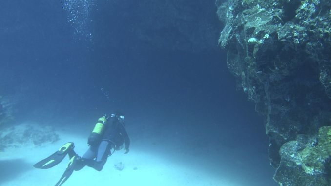 Error analysis: Solo dives should always be avoided, even if a third diver is present. Photo: Sascha Tegtmeyer