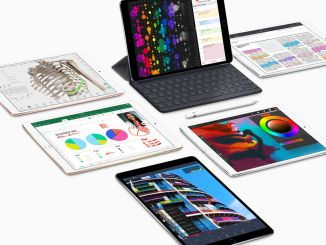 "For the current iPad Pro, there is already an external keyboard and the electronic pen ""Apple Pencil"". Photo: Apple"