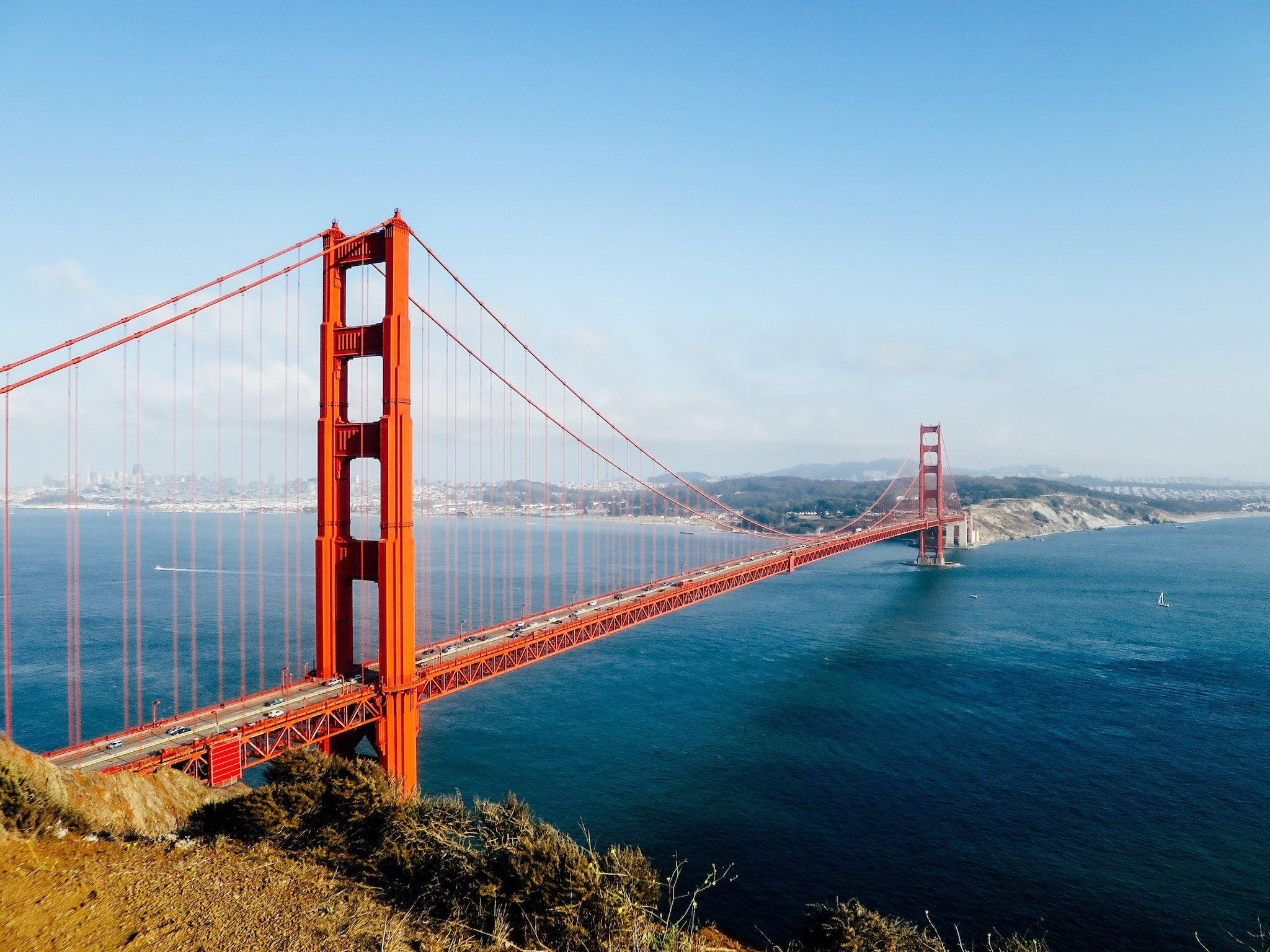 Golden Gate Bridge: die USA sind eines der beliebtesten Reiseziele deutscher Urlauber. Foto: Unsplash/Patrick Tomasso