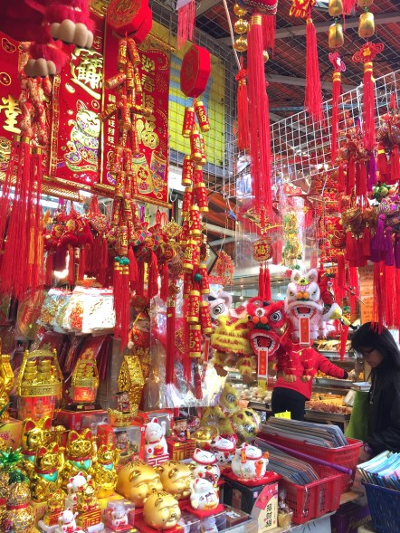 CNY toys and ornaments sold at Aberdeen Market.