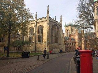 Cambridge. First acquaintance