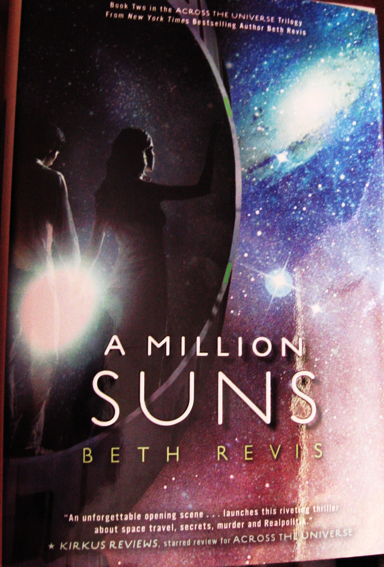 A Million Suns By Beth Revis Review  The Dancing Nerd