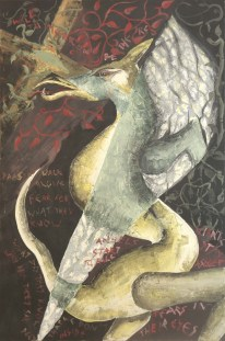 Dragons walk alone (2000). Available for sale.