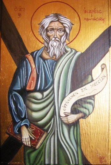 St Andrew, by Sasha Chaitow