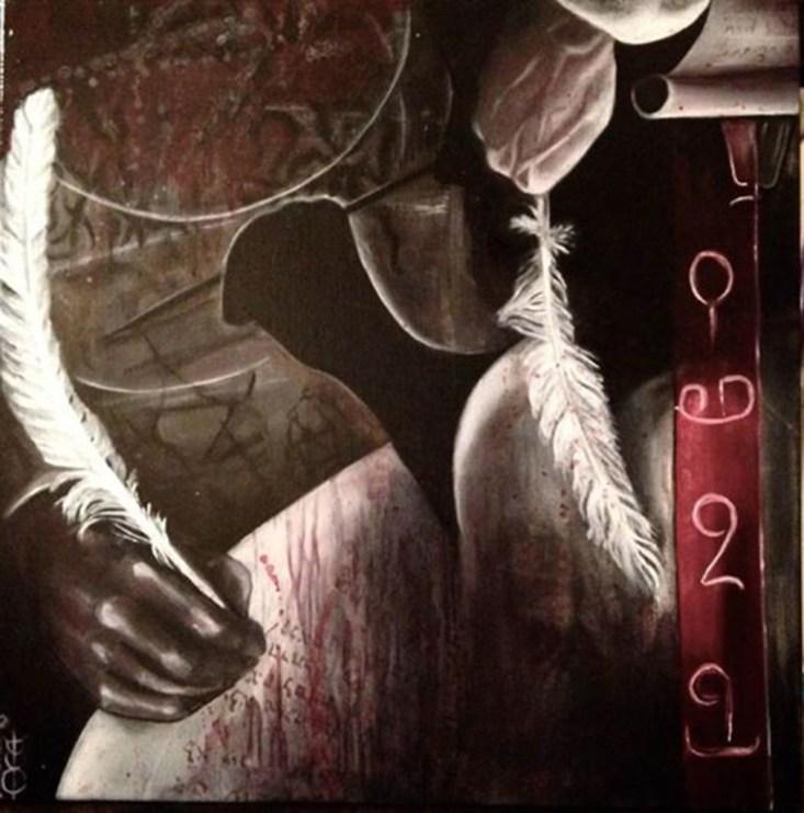 The Feathers of Penemue (C) Sasha Chaitow 2016