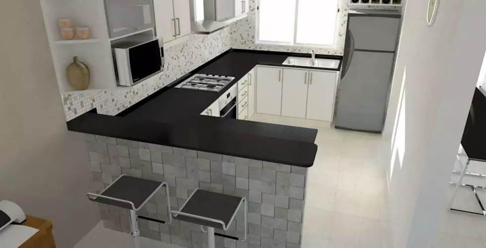 Bajomesadas de cocinas medidas sashadesigns for Altura de muebles de cocina