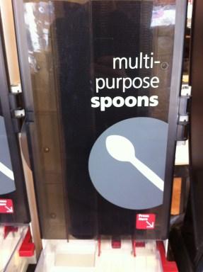 Multi-purpose spoon