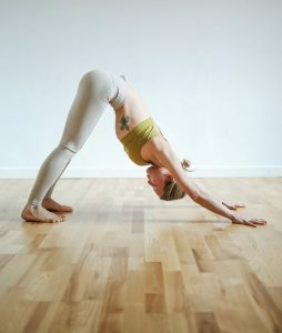 Downward Dog Pose To Stop Hair Thinning