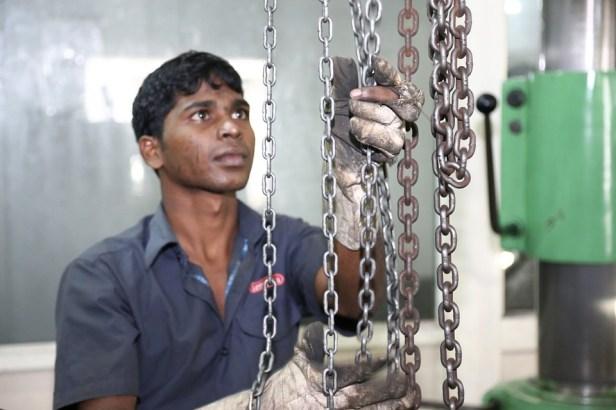 black worker
