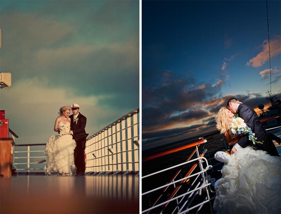 Carnival Cruise Wedding Photos  Diana  Eugene