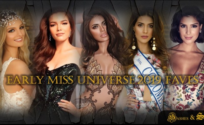 Miss Universe 2019 Early Favorites Sashes Scripts