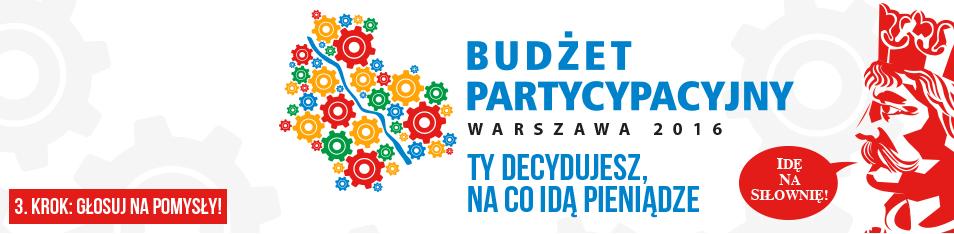2015-06-26: głosowanie na projekty do budżetu partycypacyjnego 2016