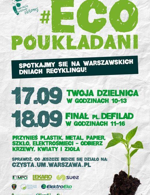 2016-09-17: Warszawskie Dni Recyklingu!