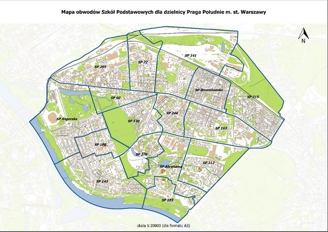Informacja Dzielnicy Praga-Południe dotycząca planowanych zmian w sieci szkół podstawowych