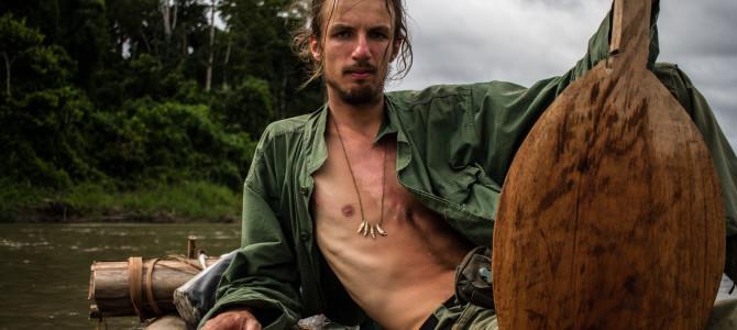 2017-03-20: Nieturyści – spotkania z tymi, którzy podróżują po swojemu – Emil Witt – tratwą przez Amazonię