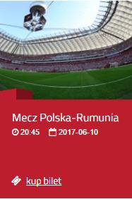 2017-06-10: mecz Polska – Rumunia