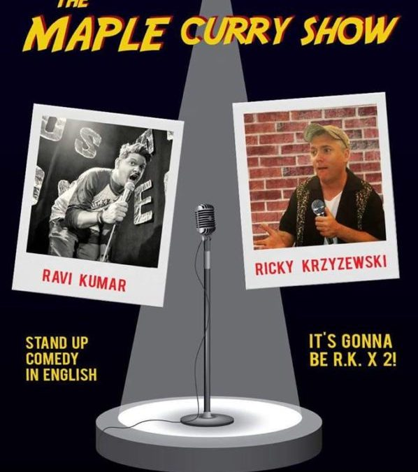 2017-07-21: The Maple Syrup Curry Show / stand-up comedy /