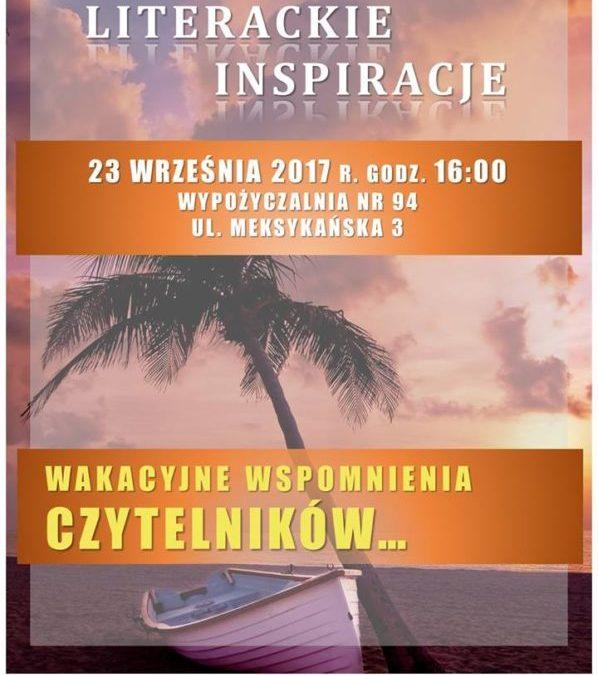 2017-09-23: Literackie inspiracje