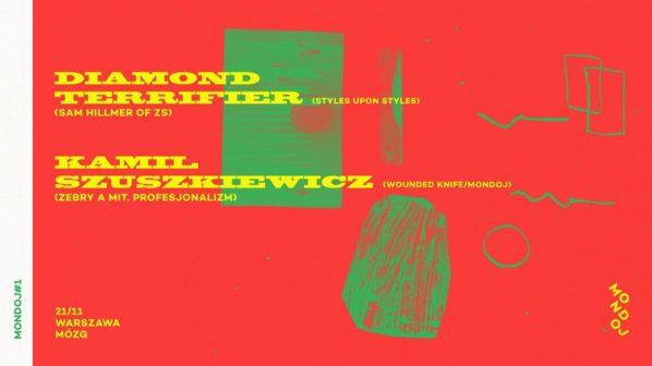 2017-11-21: Mondoj#1: Diamond Terrifier / Kamil Szuszkiewicz