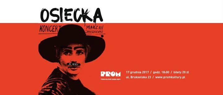 """2018-03-03: Koncert Marcina Januszkiewicza: """"Osiecka po męsku"""""""