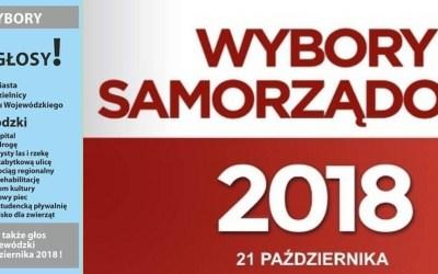 2018-10-21: * wybory samorządowe – informacje przedwyborcze dla Saskiej Kępy! *