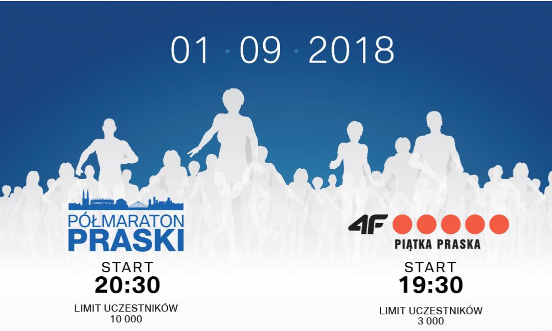 2018-09-01 Półmaraton Praski i 4F Praska Piątka