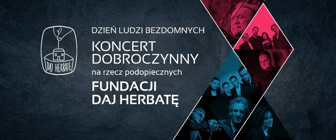 2018-04-27: Koncert Dobroczynny z okazji Dnia Ludzi Bezdomnych – Michał Urbaniak i inni