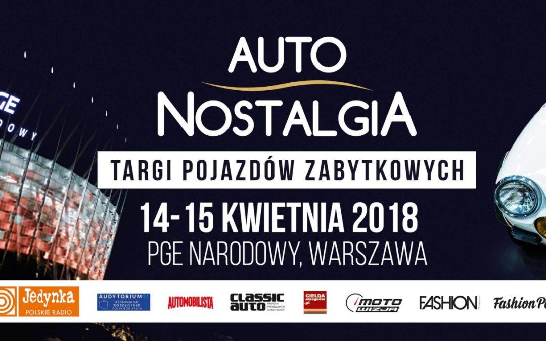 2018-04-15: Auto Nostalgia – targi pojazdów zabytkowych