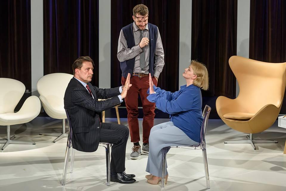 "2018-06-22: Teatr Kępa: ""Cudowna terapia"" Daniel Glattauer /PREMIERA/"