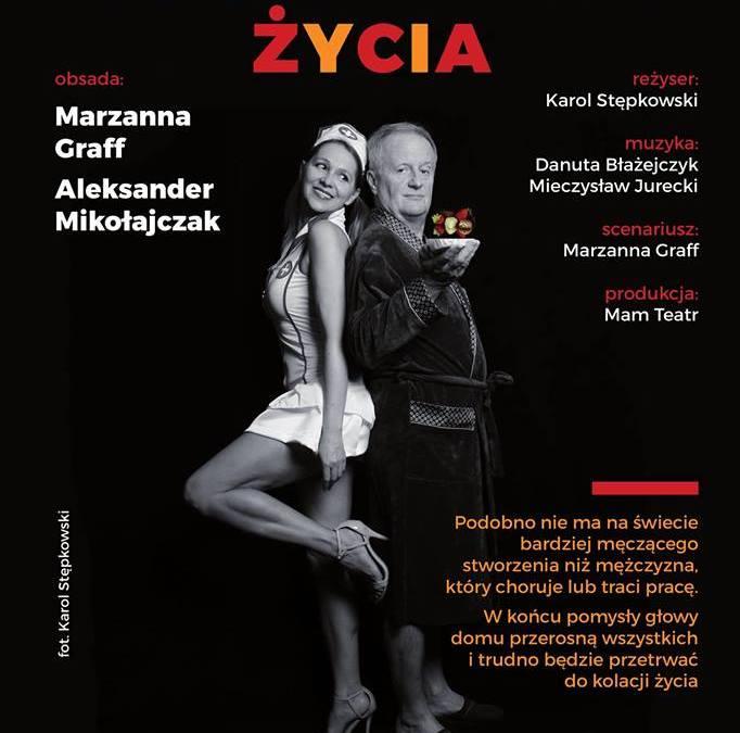 """2018-09-28:  Warszawska premiera komedii """"Podwieczorek życia"""""""