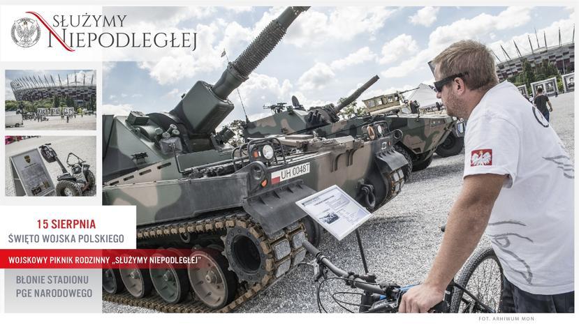 """2018-08-15: Wojskowy Piknik Żołnierski """"Służymy Niepodległej"""""""