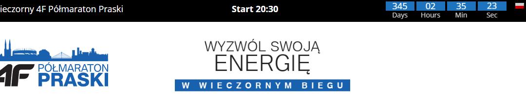 2019-08-31: 6. Wieczorny 4F Półmaraton Praski & 4F Piątka Praska
