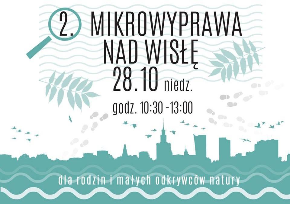 2018-10-28: 2-ga Mikrowyprawa nad Wisłę: dzikie oblicze Parku Skaryszewskiego