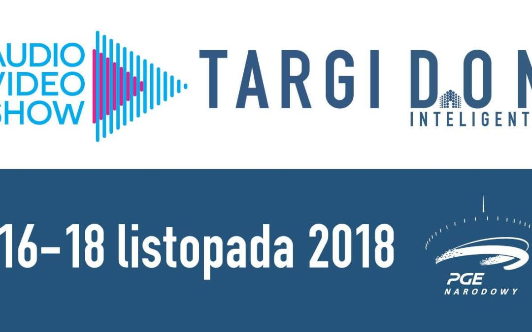 2018-11-18: Targi DOM Inteligentny podczas Audio Video Show 2018