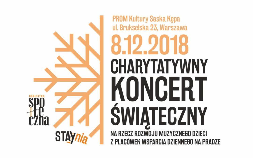 2018-12-08: Charytatywny Koncert Świąteczny // STAYnia i Orkiestra Społeczna