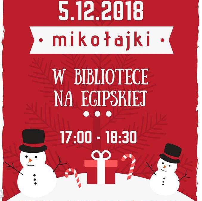 2018-12-05: Mikołajki w bibliotece