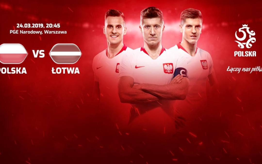 2019-03-24: Mecz Polska-Łotwa