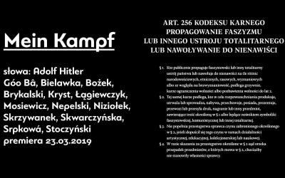 2019-11-20 & 21: Mein Kampf