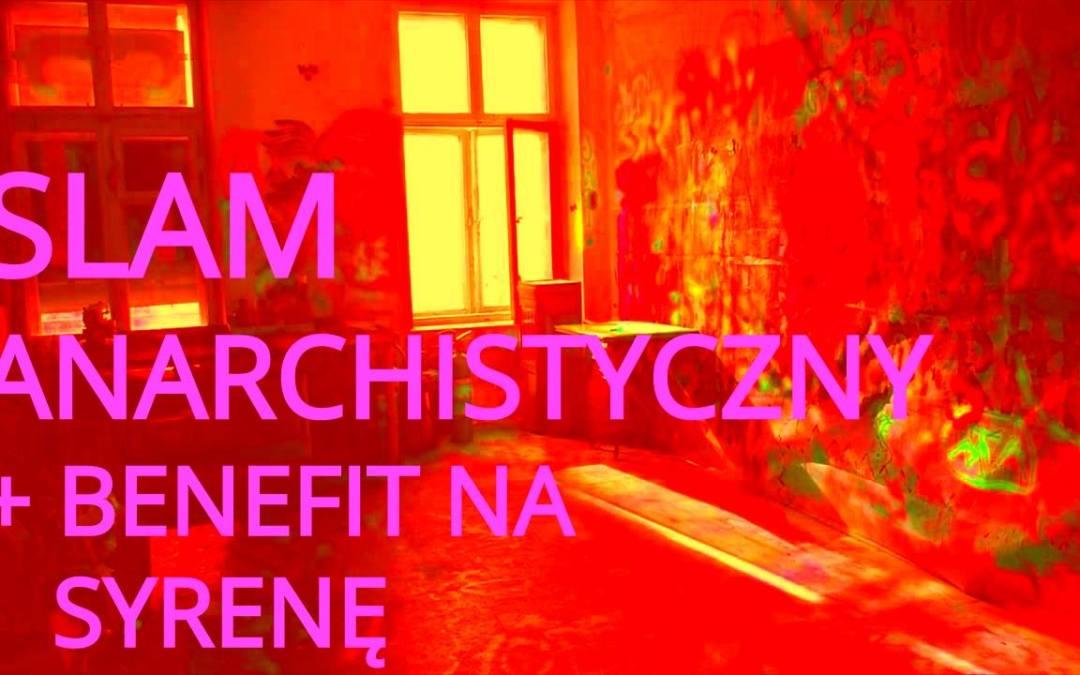 2019-03-22: Slam anarchistyczny + benefit na Syrenę
