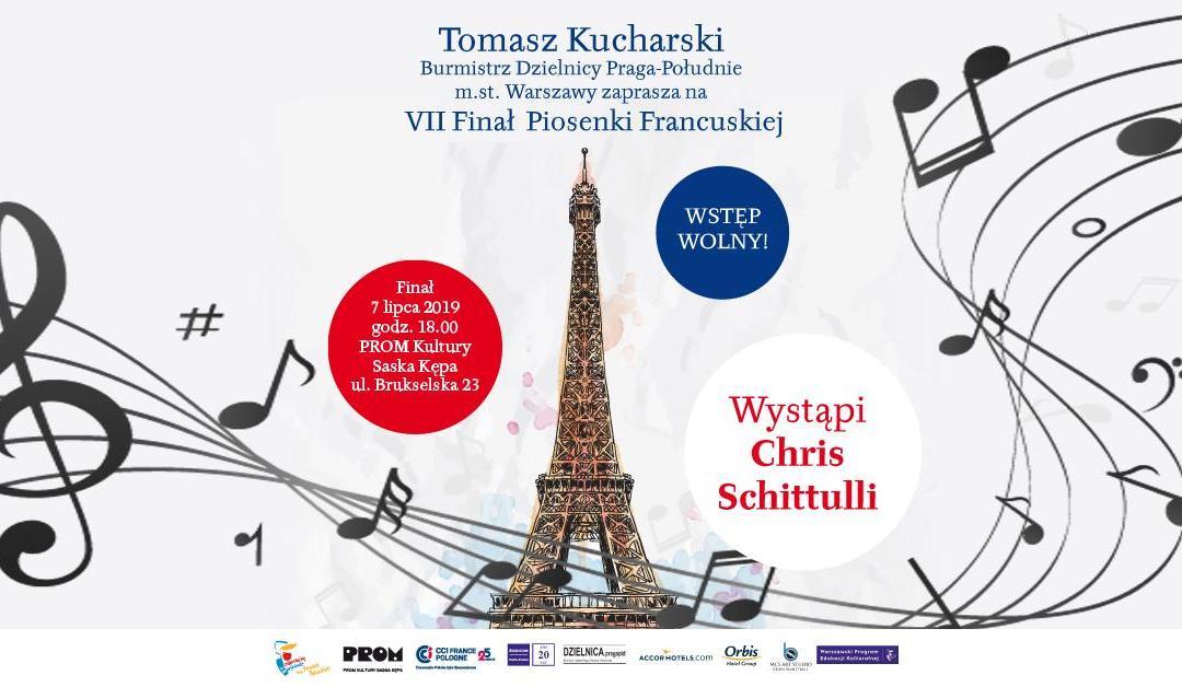 2019-07-07: finał Konkursu Piosenki Francuskiej