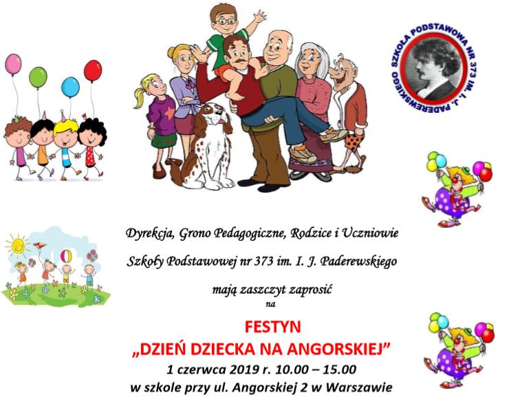 """2019-06-01: Festyn """"Dzień Dziecka na Angorskiej"""""""